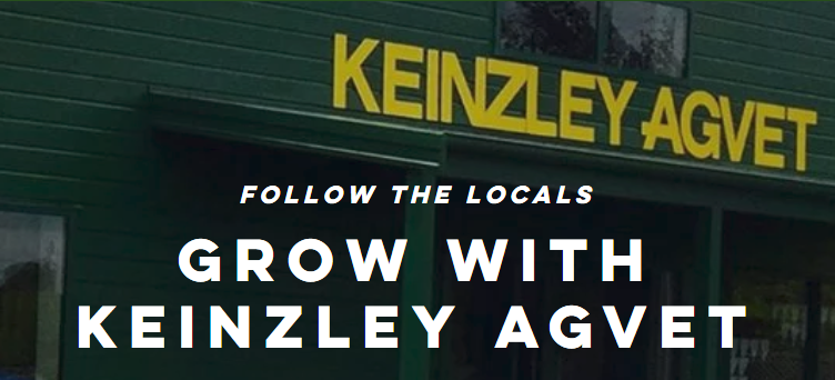 Follow the locals - grow with Keinzley Agvet.