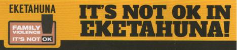 It is NOT OK in Eketāhuna